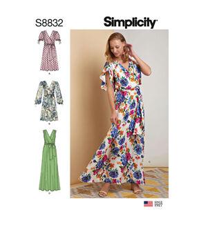 1960s – 70s Sewing Patterns- Dresses, Tops, Pants, Men's Simplicity Pattern S8832 Misses Pullover Dress - Size H5 6 - 8 - 10 - 12 - 14 $20.95 AT vintagedancer.com