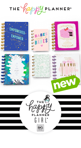 The Happy Planner Girl Journals, pages, stickers & accessories have arrived at JOANN