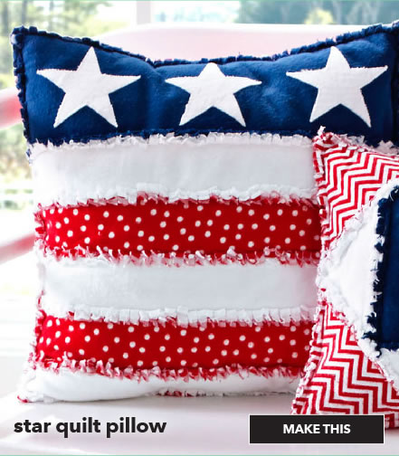 How to make a star quilt pillow. Make This.