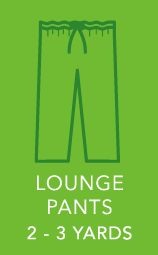 Mens Lounge Pants 2 to 3 yards.