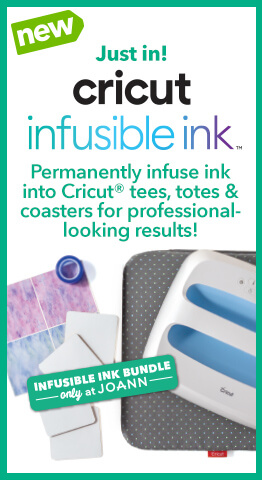 Permanently infuse ink into Cricut tees, totes and coasters for professional-looking results!