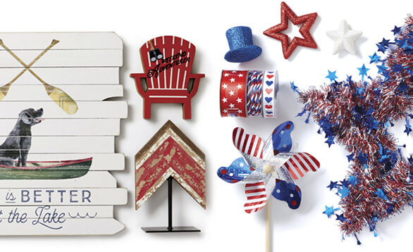 Get ready for summer with new Camp Ann & Land of the Free Summer Decor. SHOP ALL