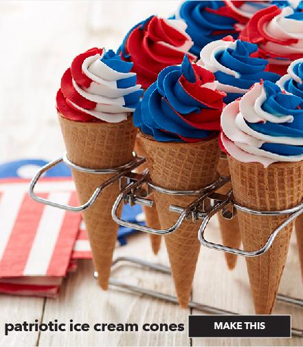 How To Make Patriotic Ice Cream Cones. Make This.