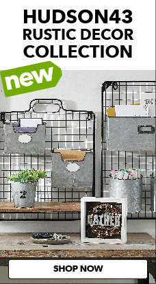 JOANN's new Hudson43 Rustic Decor collection is a trendy way to bring the country feel indoors