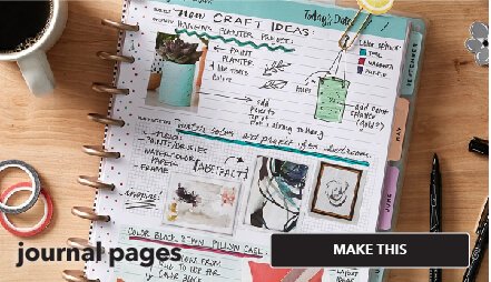 How to create journal pages. Make This.