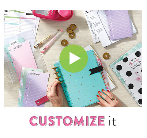Customize It.