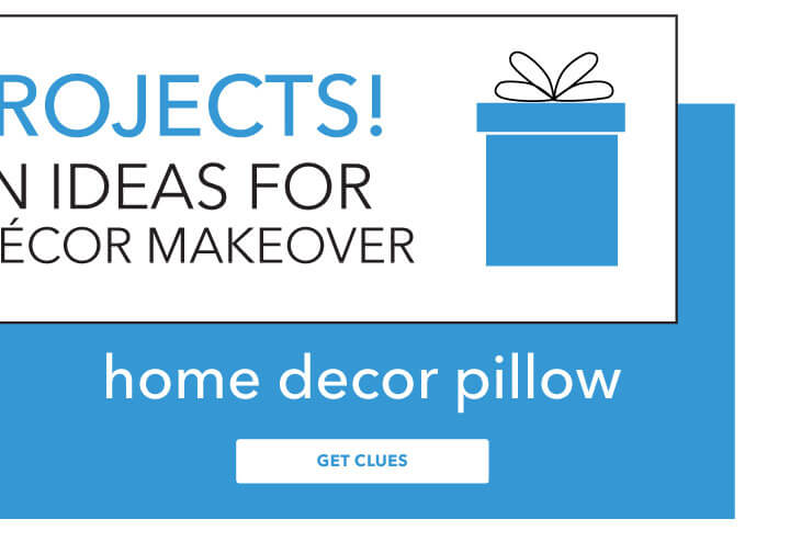 Did you miss the first bonus project? No Worries! Go back and work on it now. Home Decor Pillow.