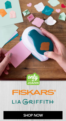 Only at JOANN - Fiskars Lia Griffith Tools & Punches
