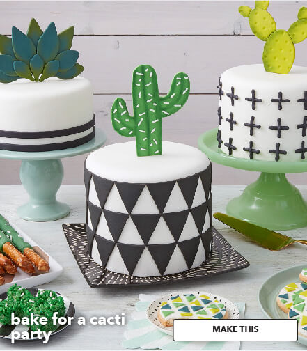 How To Bake For A Cacti Party. Make This.