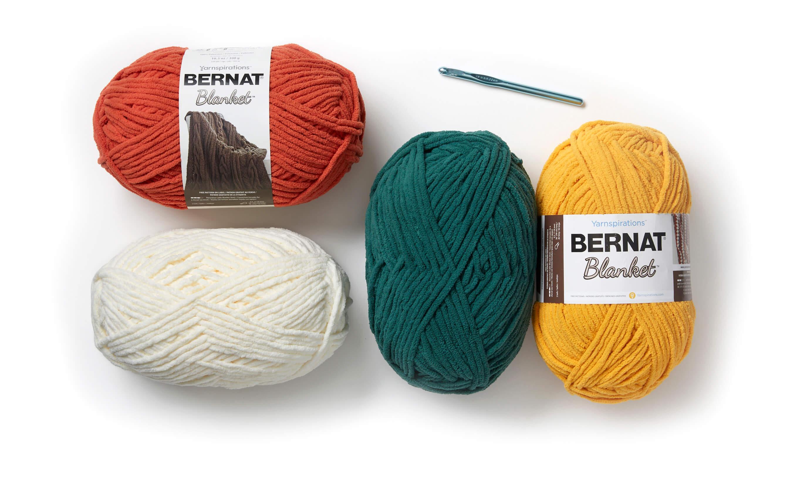 Bernat Yarn Spring Mystery Stitch Along | Stitch Along Each
