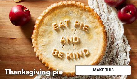 How To Make A Thanksgiving Pie. Make This.