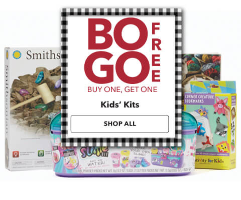Buy one get one free Kids Kits. Shop Now.