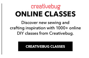 Creativebug ONline Classes. Discover new sewing and crafting inspiration every day with online DIY classes from Creativebug. CREATIVEBUG CLASSES.