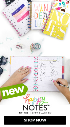 The Happy Planner Happy Notes are now at JOANN, just in time for back to school