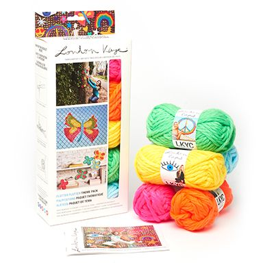 London Kaye Kits, Yarn & Hooks