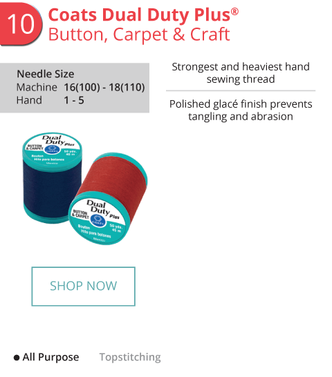 Coats Dual Duty Plus - Button, Carpet and Craft