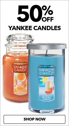 Yankee Candles are 50% off now at JOANN