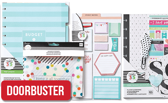 BOGO 50% Free The Happy Planner Collection™ Accessories*.  Shop Now.