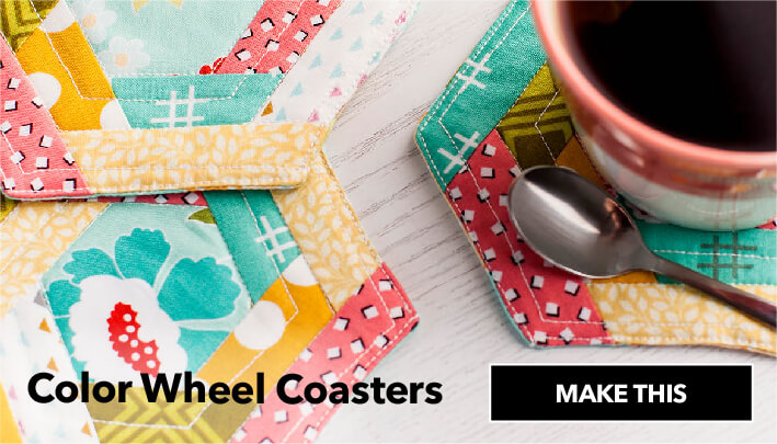 Color Wheel Coasters. Make This.