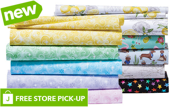 Image of NEW! Keepsake Calico and Novelty Cotton Prints. Buy Online Pickup In-Store.