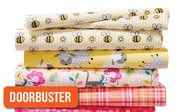 60% Off Snuggle Flannel Prints & Cozy Flannel Solids. Shop Now!