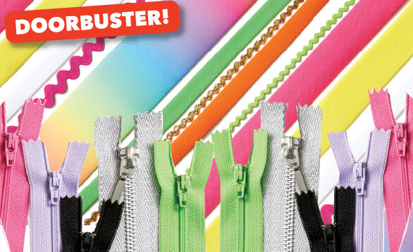 Image of Doobuster Tapes, Braids & Zippers.
