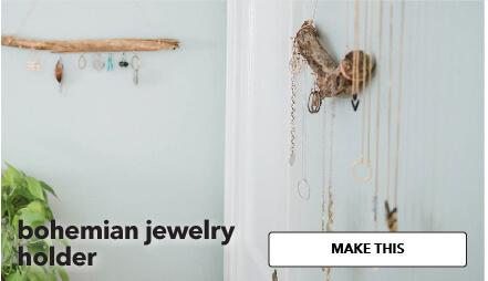 Bohemian Jewelry Holder. Make This.
