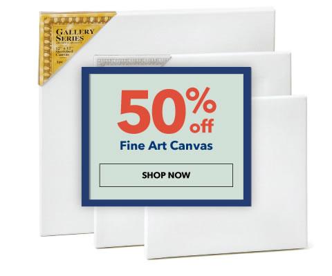 50% off Fine Art Canvas. Shop Now.