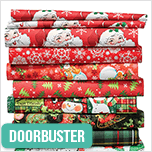 60% Off Christmas Cotton Fabrics. Shop Now.