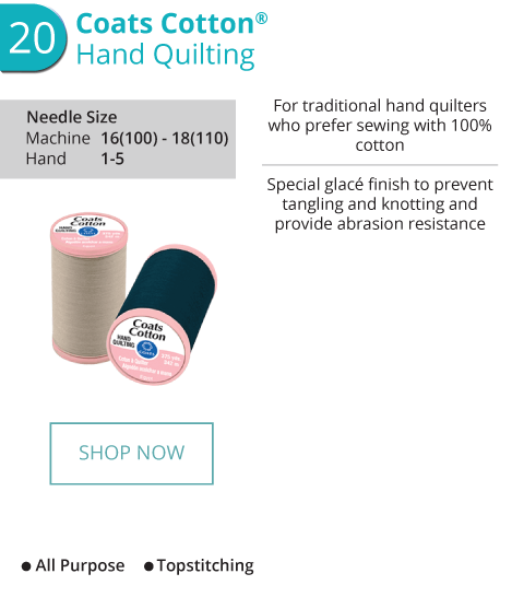 Cotton - Hand Quilting