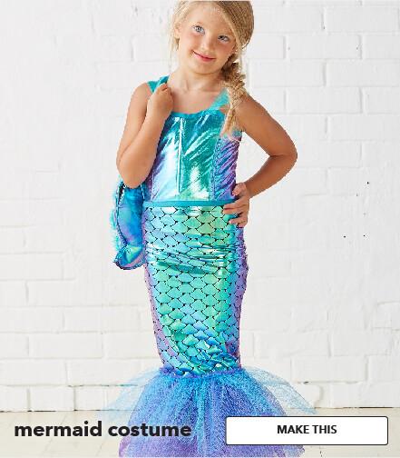 Mermaid Costume. Make This.