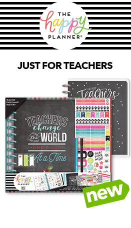 Get ready for your students & the school year with Happy Planner notes & journals at JOANN