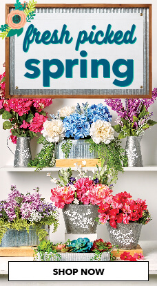 Beautiful Spring flowers & greenery now available at JOANN