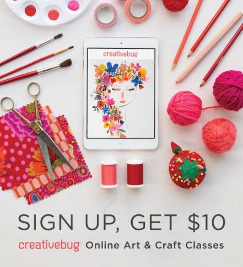 image of creativebug classes