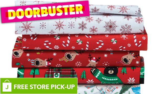 Image of DOORBUSTER! Super Snuggle and Snuggle Flannel Prints.