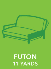 Futon. 11 Yards.