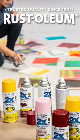 JOANN has Rust-Oleum paints & spray paints in a variety of colors, perfect for your next home decor or crafting project