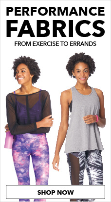 Look good & feel good while you workout with Loungeletics from JOANN