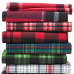 "40% off Blizzard Fleece Solids & Prints and  48"" & 72"" No-Sew Fleece Throw Kits. Shop Now."
