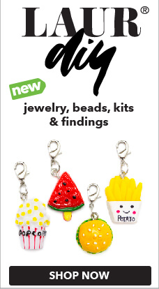 Check out the new Laur DIY jewlery-making kits, only at JOANN