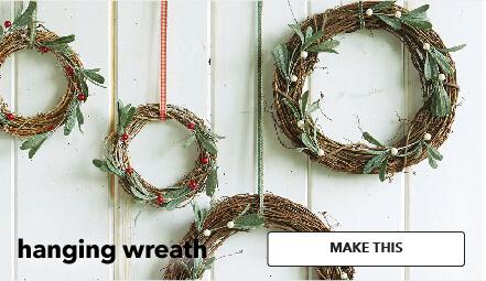 Hanging Wreath. Make This.