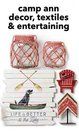 Bring the outdoors in this summer with Camp Ann decor, only at JOANN