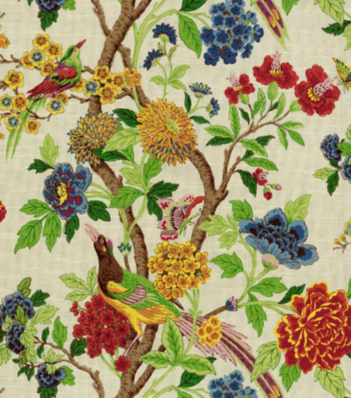 fabric joann decor fabrics summer floral upholstery prints studio richloom wilma yard drapery flowers cotton material patterns decorating pattern curtains