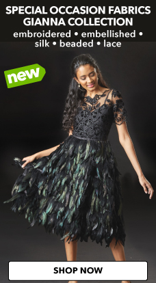 New Gianna fine apparel fabrics are now available exclusively at JOANN