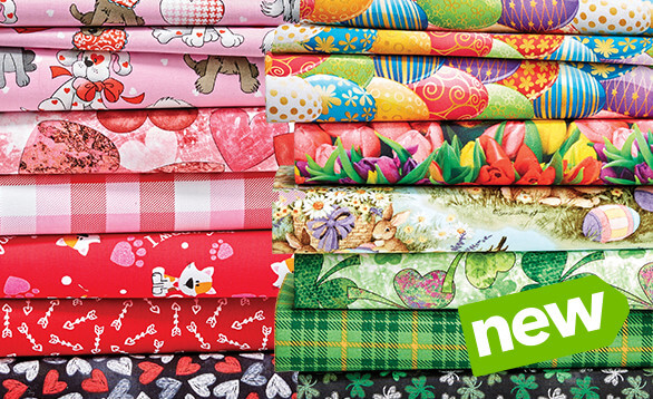 Holiday Cotton Fabrics. Shop Now.