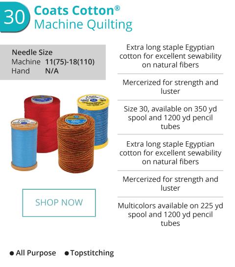 Cotton - Machine Quilting
