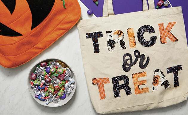 image of trick or treat bags