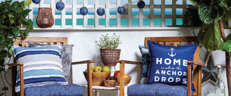 Bring the Summer indoors or onto your patio with beautiful Summer decor. Get Inspired and Shop Now.