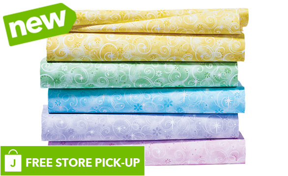 NEW! Keepsake Calico Cotton Prints. BUY ONLINE, PICK-UP IN-STORE
