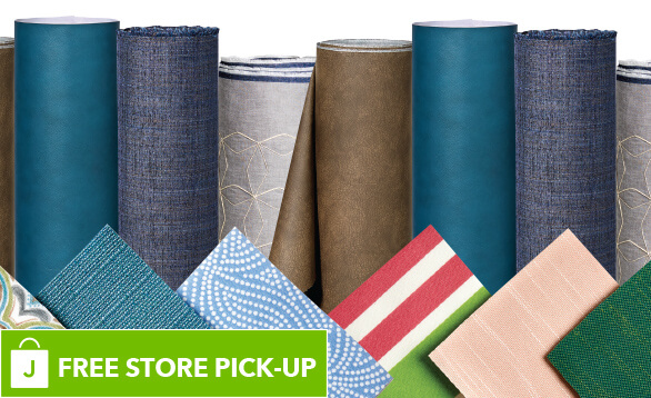 Up to 40% off 54in Home Decor Prints, Solids, Upholstery Fabrics, Custom Order, Outdoor, Vinyl and Performance Fabrics. BUY ONLINE PICK-UP IN-STORE.